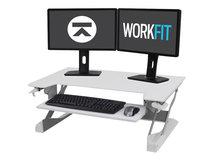 WorkFit-TL - Stehender Tischwandler - weiß