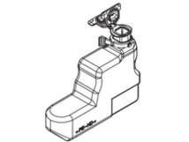 WT-3100 - (120/230/240 V) - Tonersammler - für FS-2100, 4100, 4200, 4300
