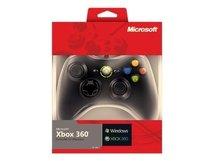 Xbox 360 Controller for Windows - Game Pad - kabelgebunden - Schwarz - für PC, Microsoft Xbox 360