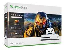 Xbox One S - Anthem Bundle - Spielkonsole - 4K - HDR - 1 TB HDD