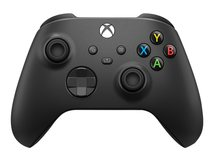 Xbox Wireless Controller - Game Pad - kabellos - Bluetooth - Carbon Black - für PC, Microsoft Xbox One, Android, iOS, Microsoft Xbox Series S, Microsoft Xbox Series X