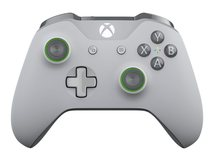 Xbox Wireless Controller - Game Pad - kabellos - Bluetooth - Grau, grün - für PC, Microsoft Xbox One, Microsoft Xbox One S, Microsoft Xbox One X