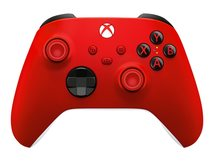 Xbox Wireless Controller - Game Pad - kabellos - Bluetooth - Pulse Red - für PC, Microsoft Xbox One, Android, iOS, Microsoft Xbox Series S, Microsoft Xbox Series X