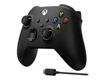 Xbox Wireless Controller + USB-C Cable - Game Pad - kabellos - Bluetooth - für PC, Microsoft Xbox One, Android, iOS, Microsoft Xbox Series S, Microsoft Xbox Series X