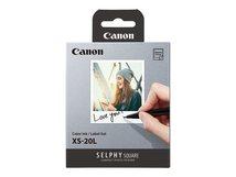 XS-20L - Farbe (Cyan, Magenta, Gelb) - Farbbandkassetten- und Papier-Kit - für SELPHY Square QX10