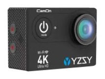 YZSY CamOn - Action-Kamera - montierbar - 4K / 10 BpS - 5.0 MPix - Wi-Fi