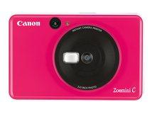 Zoemini C - Digitalkamera - Kompaktkamera mit Fotosofortdrucker - 5.0 MPix - Bubblegum Pink