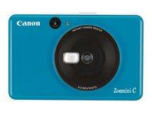 Zoemini C - Digitalkamera - Kompaktkamera mit Fotosofortdrucker - 5.0 MPix - Seaside Blue