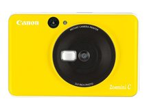 Zoemini C - Digitalkamera - Kompaktkamera mit PhotoPrinter - 5.0 MPix - Bumble Bee Yellow