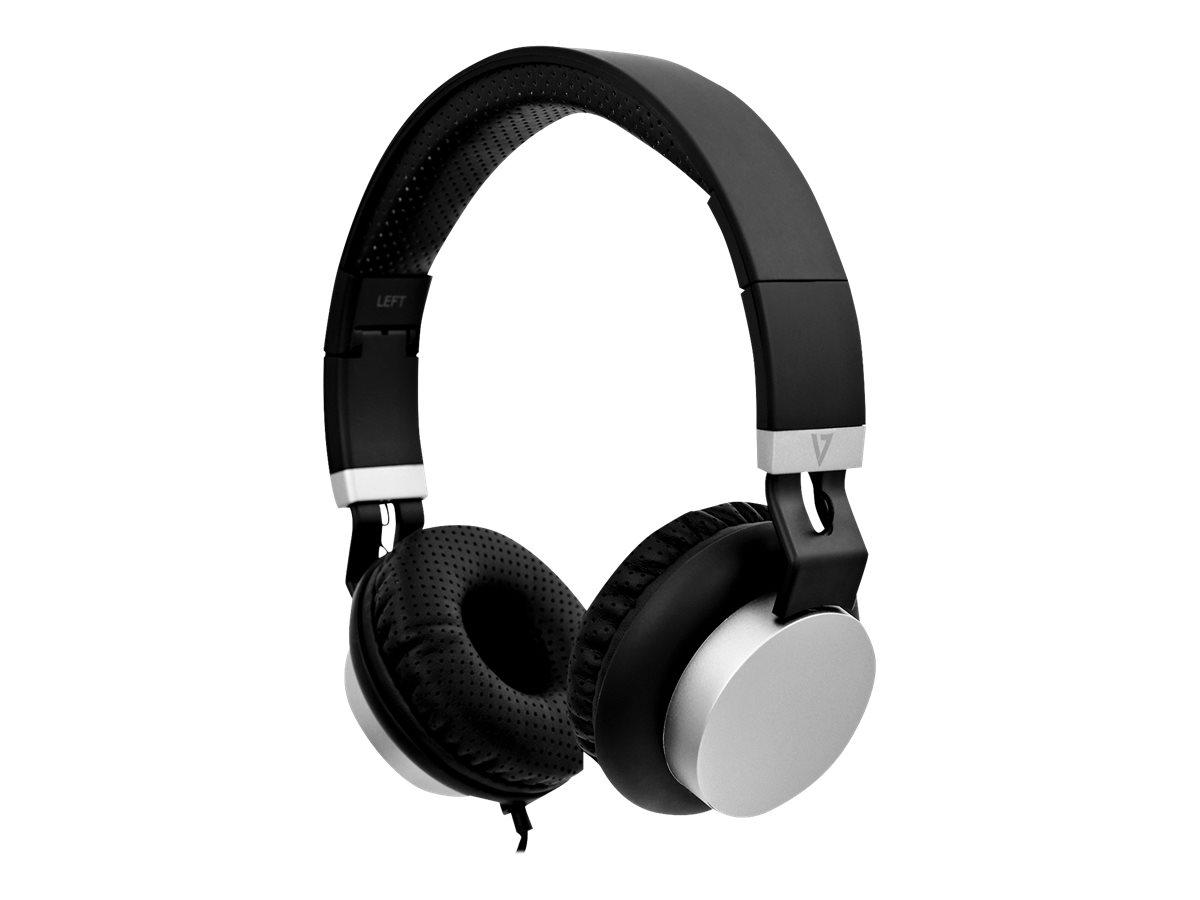 V7 lightweight headphones ha601 3ep kopfhoerer mit mikrofon on ear kabelgebunden 3 5 mm stecker geraeuschisolierung 8671349 ha601 3ep
