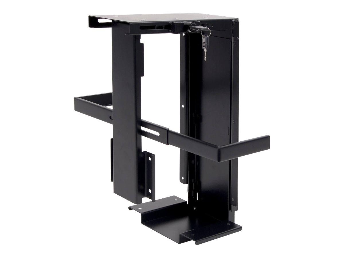 viewmate desk 303 systemschrankhalterung unter tisch montierbar schwarz von dataflex f r 67 79. Black Bedroom Furniture Sets. Home Design Ideas