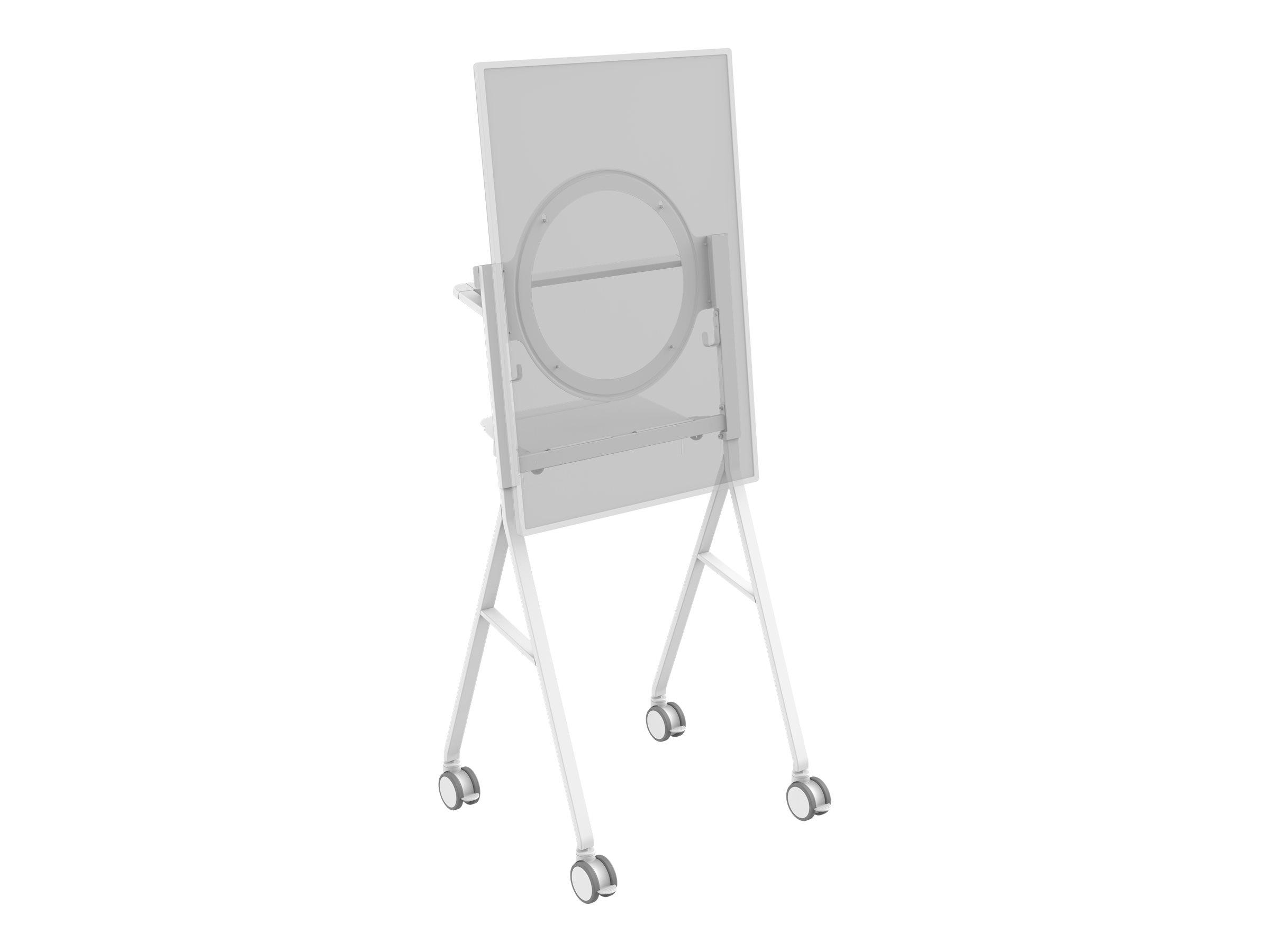 Vision vfm f10 wagen fuer interaktives whiteboard stahl weiss montageschnittstelle 350 x 350 mm 12687263 vfm f10 hb