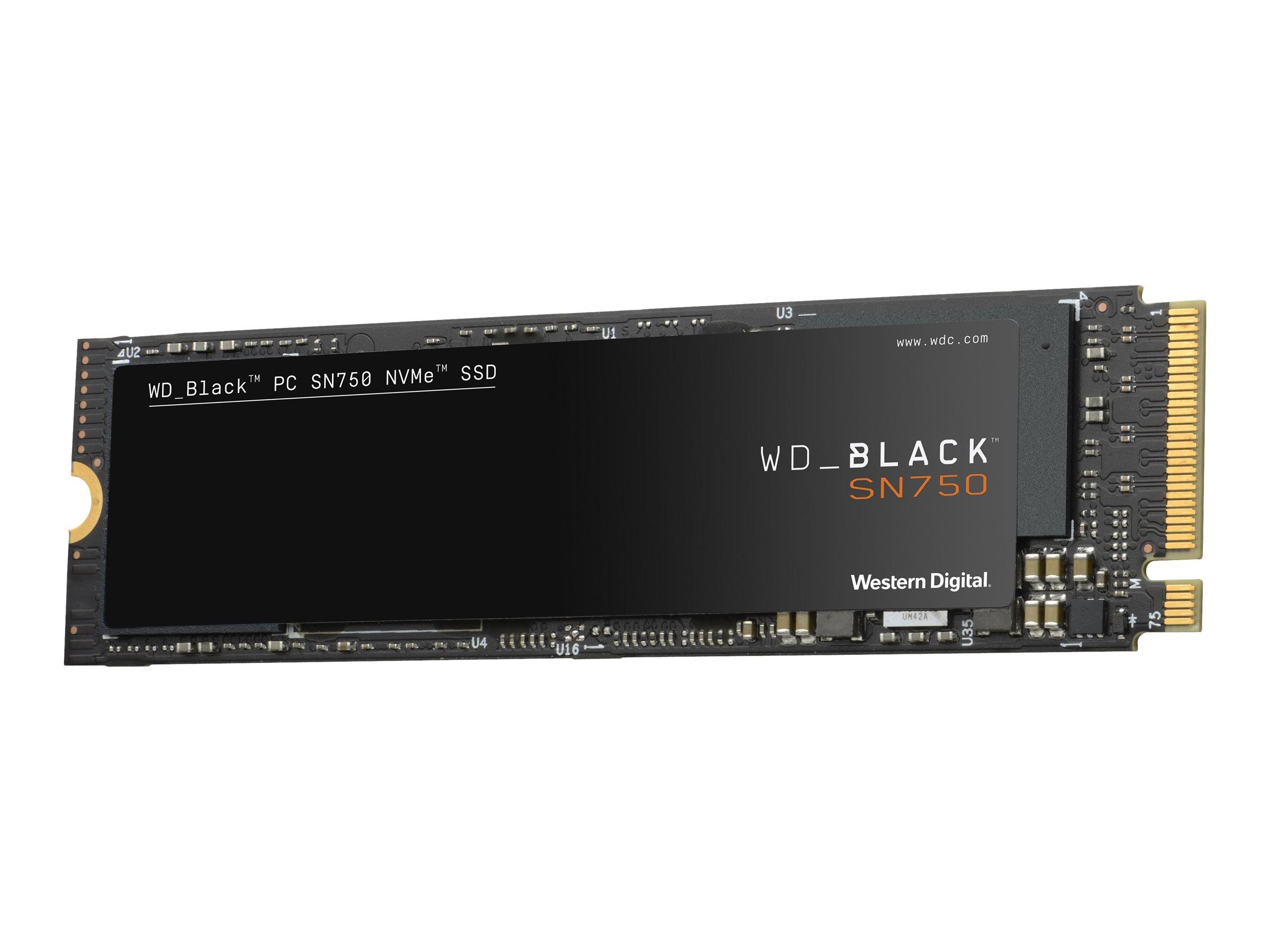 Wd black sn750 nvme ssd wds200t3x0c solid state disk 2 tb intern m 2 2280 pci express 3 0 x4 nvme 10982192 wds200t3x0c