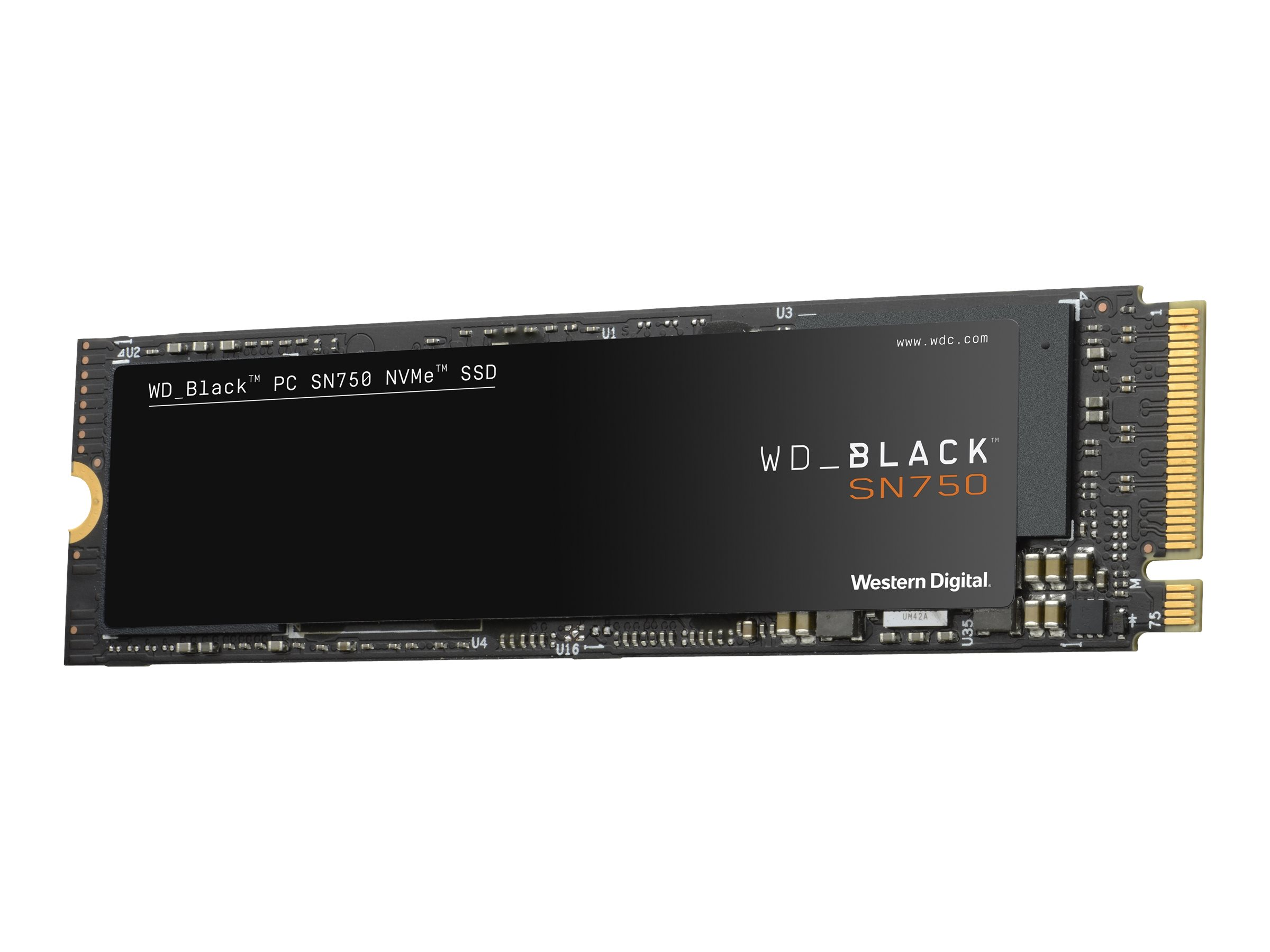 Wd black sn750 nvme ssd wds500g3x0c solid state disk 500 gb intern m 2 2280 pci express 3 0 x4 nvme 10892291 wds500g3x0c