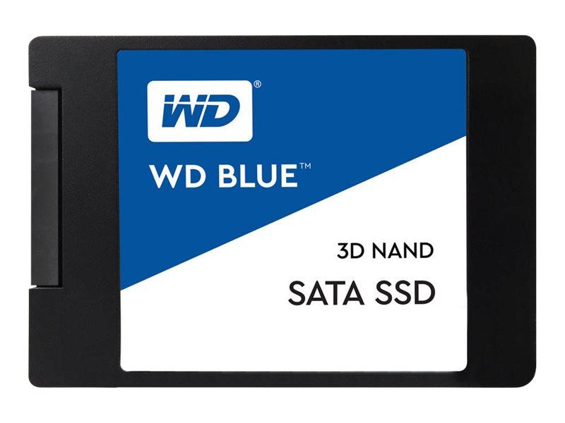 Wd blue 3d nand sata ssd wds100t2b0a solid state disk 1 tb intern 2 5 6 4 cm sata 6gb s 7952866 wds100t2b0a