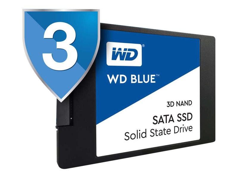Wd blue 3d nand sata ssd wds500g2b0a solid state disk 500 gb intern 2 5 6 4 cm sata 6gb s 7952872 wds500g2b0a