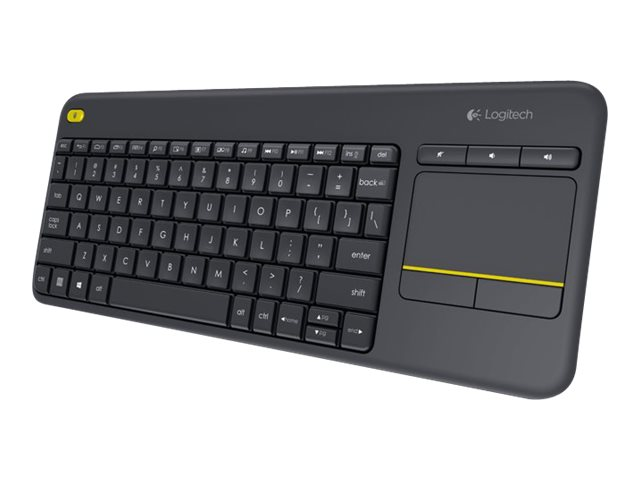 Wireless touch keyboard k400 plus tastatur kabellos 2 4 ghz englisch 5494247 920 007143